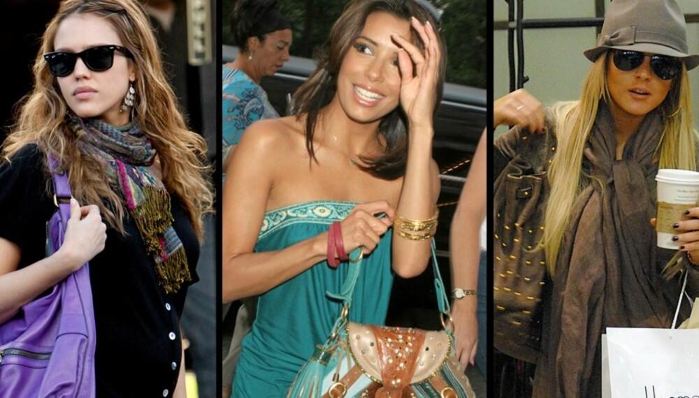 IVRIGE NETTSHOPPERE: Handle på nettet sammen med Jessica Alba, Eva Longoria og Lindsay Lohan!