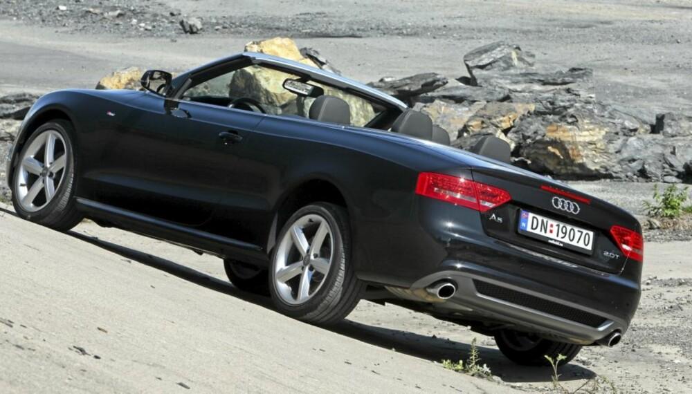 BUNNEN: Ønsker du deg en bil som ikke skal ofte på verksted, er Audi A5 et definitivt sistevalg, ifølge rapporter fra britiske bileiere.