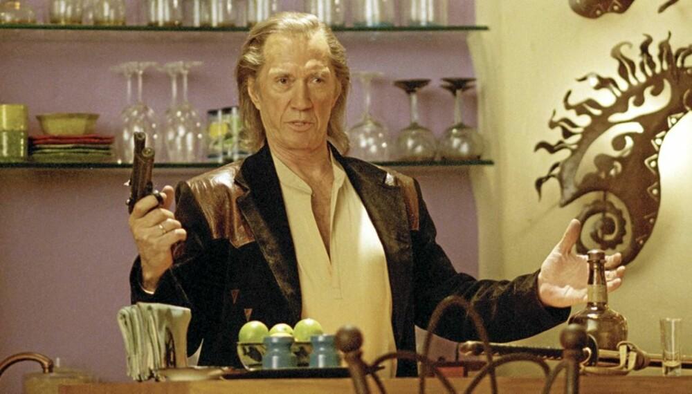 David Carradine som Bill i kultfilmen Kill Bill.