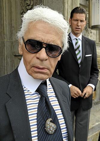 MORSK: - Jeg har ingen menneskelige følelser, hevder Karl Lagerfeld.