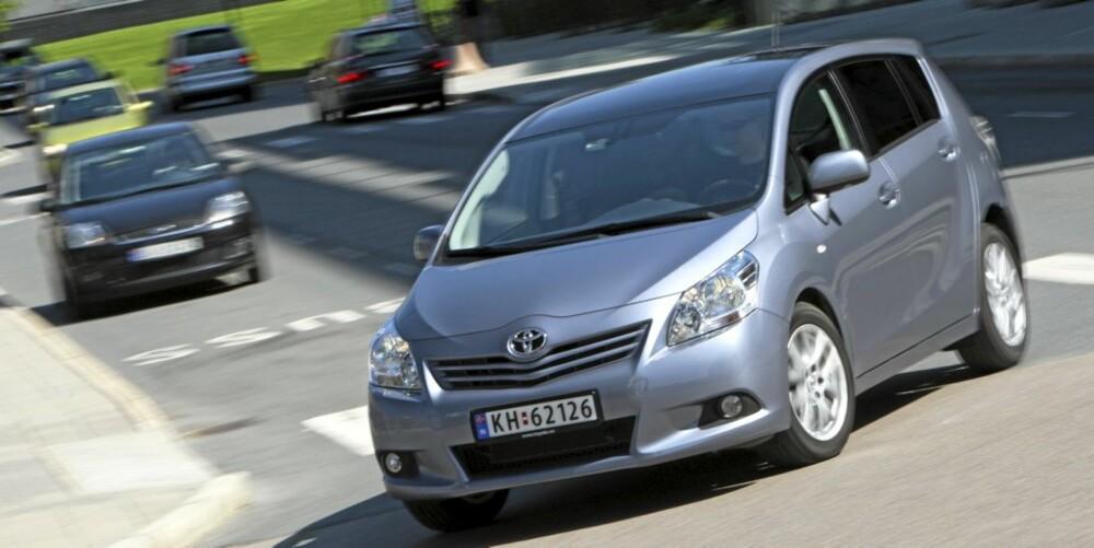 TRYGG: At Toyota Verso er et trygt valg i denne klassen er det liten tvil om.