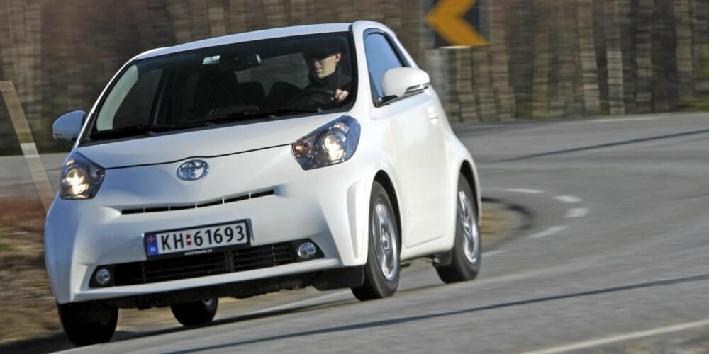SMART: Toyota IQ er vår favoritt blant minibilene.