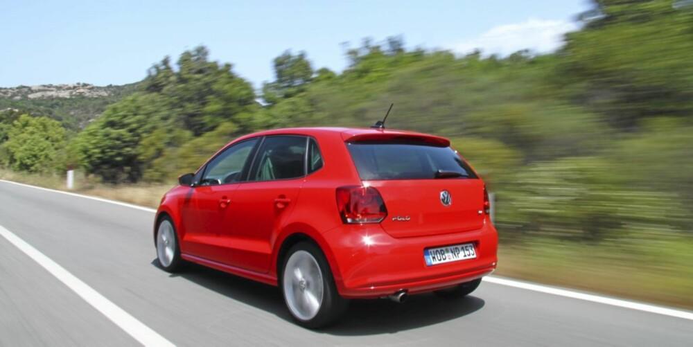 PÅ VEI OPP: Nye VW Polo er klart bedre enn forgjengeren, hvor høyt kan den klatre på sikt?