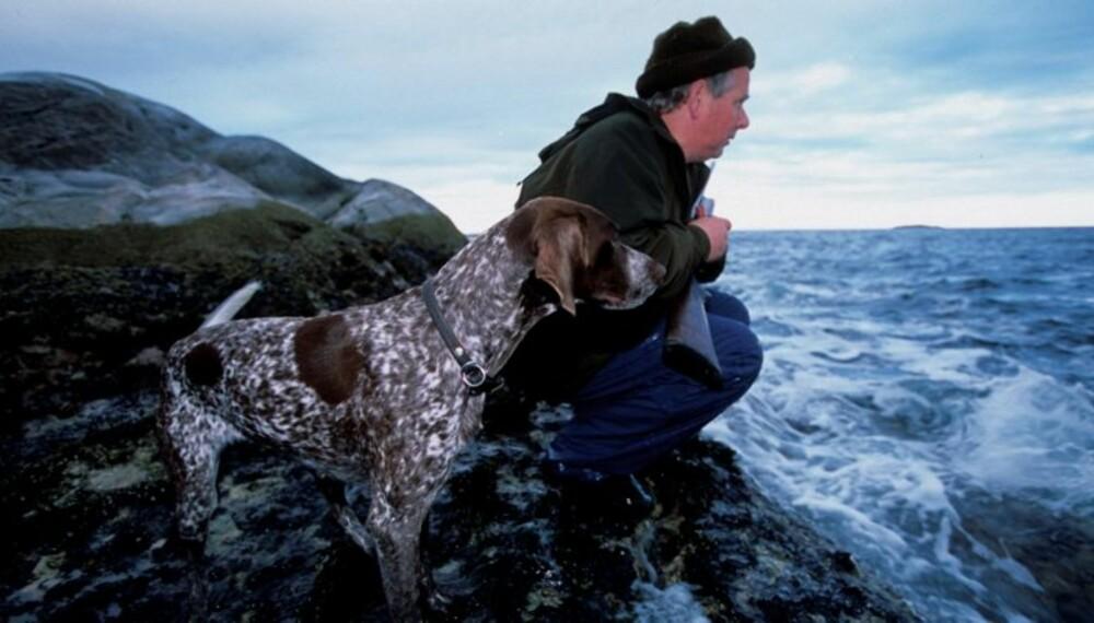 FARER LURER: Jakthunder slippes løse for å søke opp og hente vilt i alt slags vær og under alle forhold – det innebærer fra for hundene, og hvert år dør flere titalls jakthunder i ulykker. (Foto: Dag H. Karlsen)