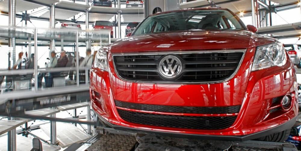 NUMMER 1: Ikke overraskende er det VW Tiguan som topper salgsstatistikken i Norge.