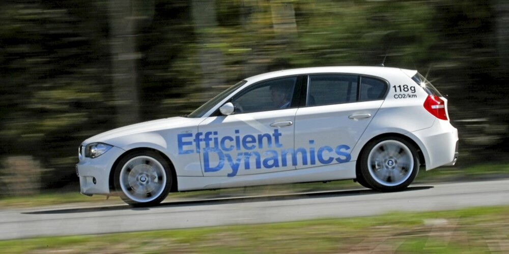 LAVT UTSLIPP: 118 g/km gir lav avgift, og gjør 116d oppnåelig for flere.
