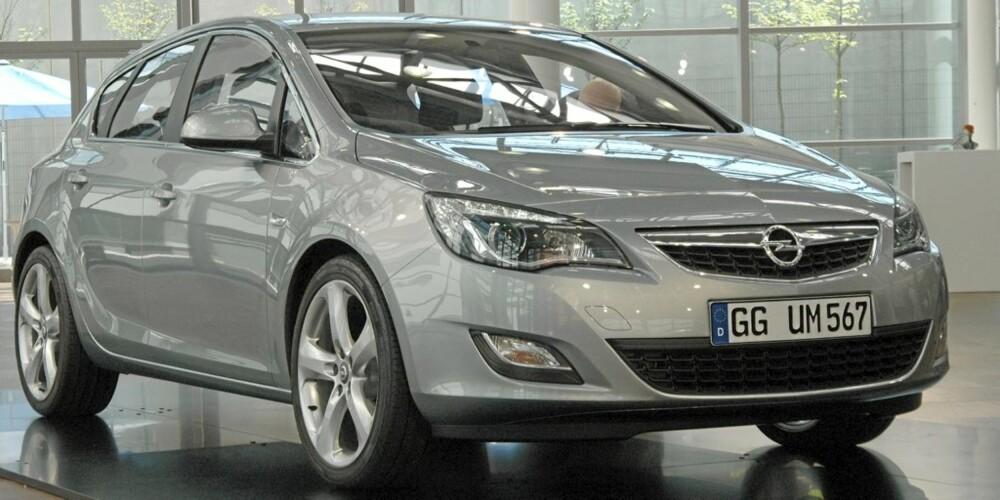 Opel Astra 2010 designworksjop juni 2009