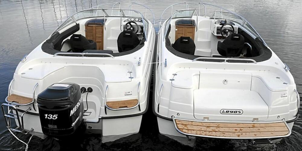 To identiske Ryds 620 avslører forskjellene på diesel- og bensinmotor.