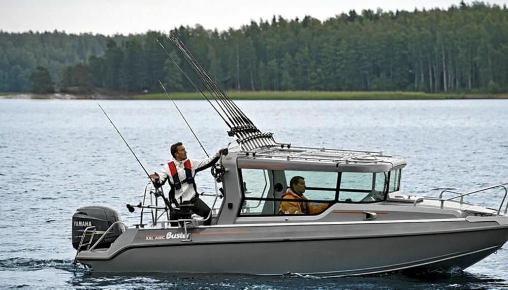 Med en båttype som Buster XXL AWC kan du glede deg over båt hele året.