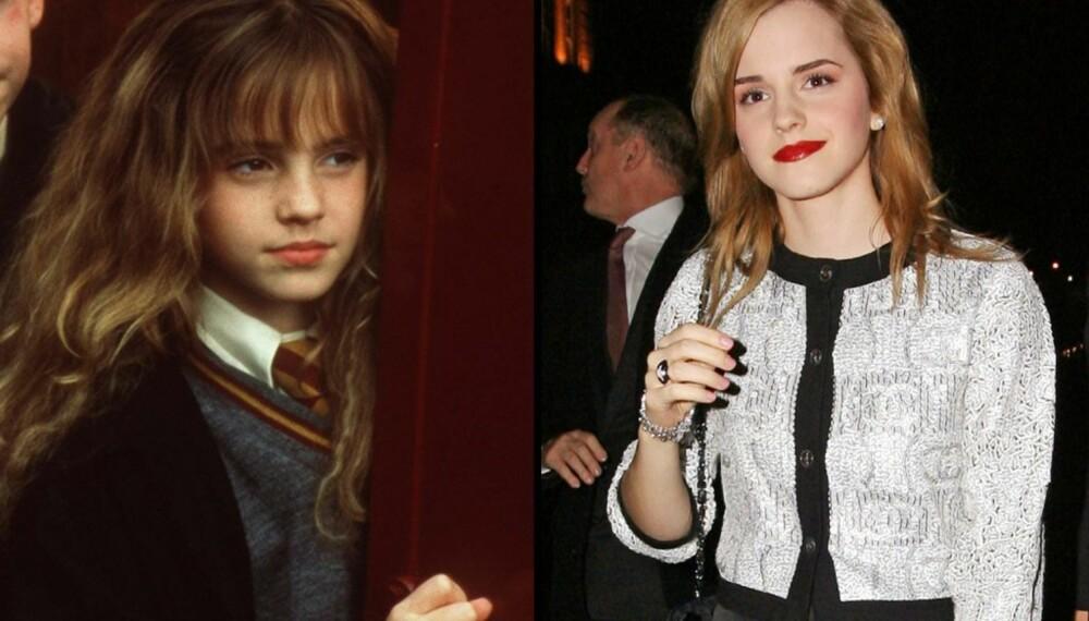 Emma Watson, før og nå