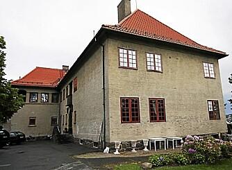 SECURITAS: Hovedkontoret lå i 1989 i denne herskapsvillaen i Sommerfrydveien. Divisjonssjef Geir Wulsch, var sjefen ti lBård da han forsvant i 1989, han vil nødig snakke om saken.