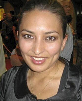 GØY: Linda Vasquez, moteansvarlig i Kamille, synes det er gøy at skulderputene fra 80-tallet er tilbake.
