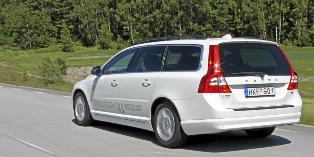 FIN FLYT: Bedre aerodynamikk og lavere rullemotstand bidrar til lavere forbruk og lavere utslipp av CO2.