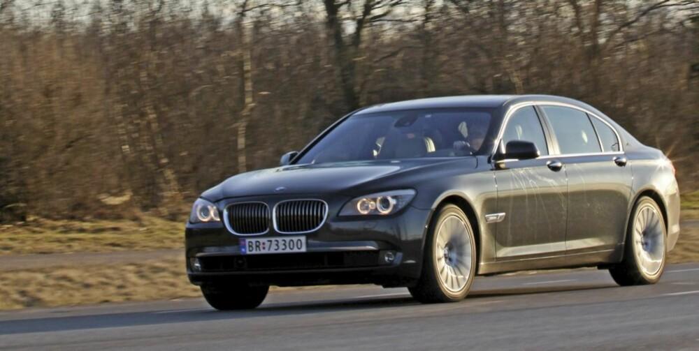 DAGENS: Dette er dagens BMW 7-serie. Siden denne finnes, er forgjengerne billige. Om noen få år blir også denne billig.