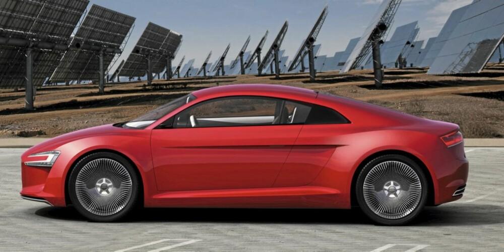 KOM AN: Denne fremtiden kan vi leve med - Audi e-tron. Se alle bildene i karusellen øverst.