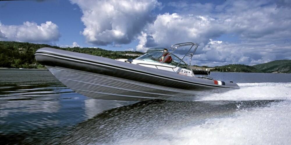 b3cfef98 Goldfish 28 RIB er rask og drivstofføkonomisk