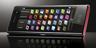 FILMTELEFON: Slik ser LGs nye mobil med bredskjerm i 21:9-format ut.