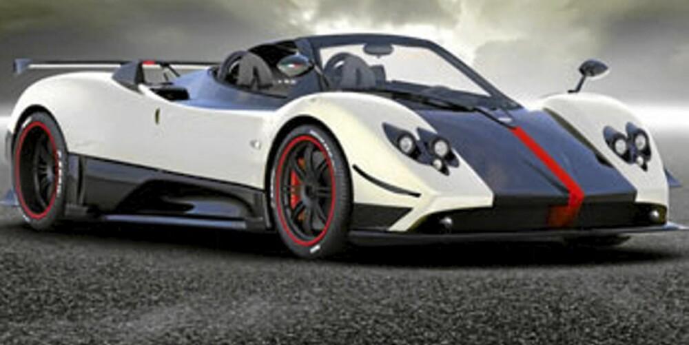TREDJEPLASS: Pagani Zonda Cinque Roadster