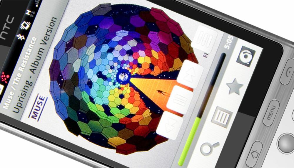 MUSIKK I LOMMEN: Med Wimp på mobilen har du hele platebutikken i lommen.