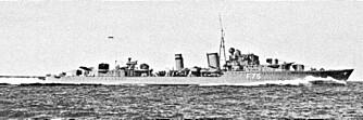 """WARSPITE: Slagskipet Warspite"""""""" satte skrekk i tyskerne med sine kjempegranater."""