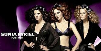MODERNE: Sonia Rykiels undertøyskolleskjon for H&M er er moderne og nyskapende.