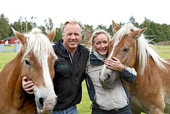 Sammen med Anders Lefdal, som driver Lefdal ridesenter, og Kreftforeningen arrangerer Christina rideleirer for barn med kreftsyke foreldre.