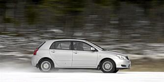 TOYOTA COROLLA: Bør være et trygt kjøp for dem som er ute etter en brukt kompaktbil. FOTO: Terje Bjørnsen
