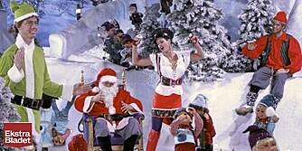 AQUAS JUL: Aqua spuiller inne en julevideo som får englene til å synge og nissene til å emigrere fra Nordpolen.