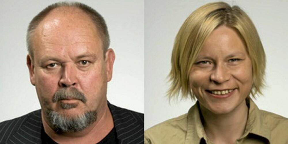Truls Vaa og Beate Elvebakk fra TØI.