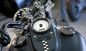 SÅNN SKAL DET VÆRE: Slik vil Prepple ha Harleyen sin.