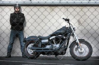FABRIKKKJØRER: Når blir det Harley for alle penga for Prepple.