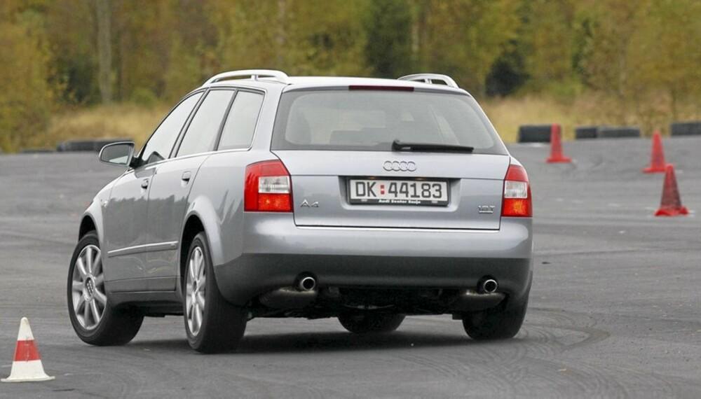 POPULÆR BRUKTBIL: Audi A4 er en populær bil, men holder den sammen etter noen år?