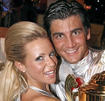 DANSEDRONNING: Lene Alexandra vant «Skal vi Danse» med makker Tom-Erik Nilsen i 2008.