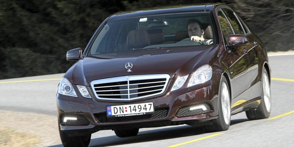 Mercedes E-Klasse får toppkarakter både hos Car og klikk.no.