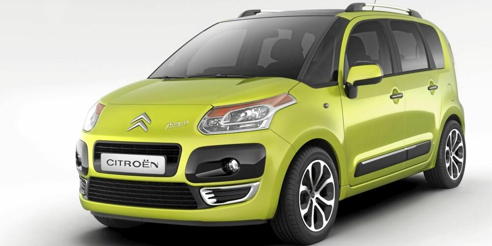Citroën C3 Picasso er en bil som leverer på stort sett alle områder.