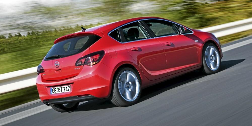 Opel Astra måtte være god - og ble god!