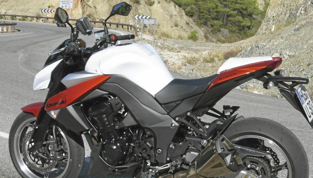 Kawasaki Z1000 2010-modell