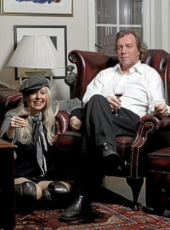 Martin Pedersen og kona Jeanette driver i dag Munch Café i Åsgardstrand.