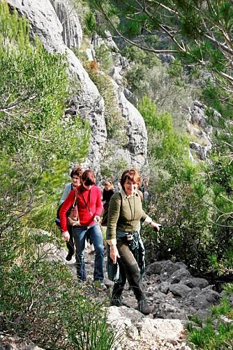 UT PÅ TUR: Mallorca har et vell av godt merkede turstier.