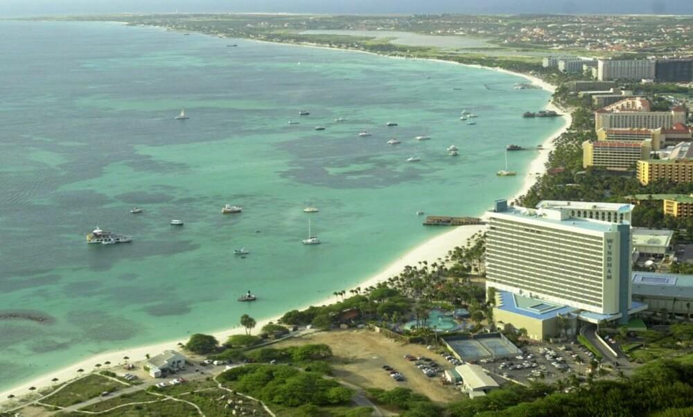 ARUBA: Strender nord-øst på Aruba, øya utenfor Venezuela som er en av de minste øyene i Karibien.