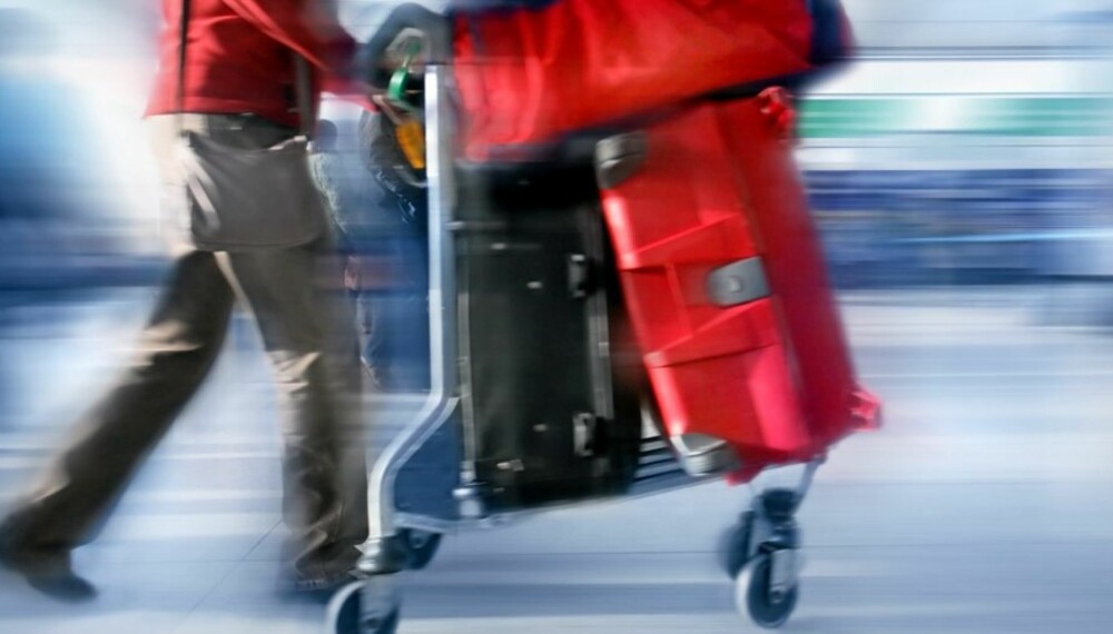 a385f691 UT PÅ TUR: Er du heldig, kommer bagasjen vel frem.