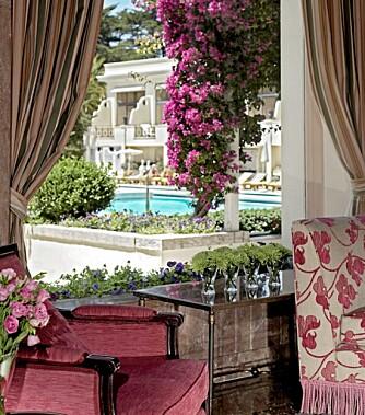LUKSUS: Luksusen er til å ta og føle på ved Hotel Palacio Estoril.