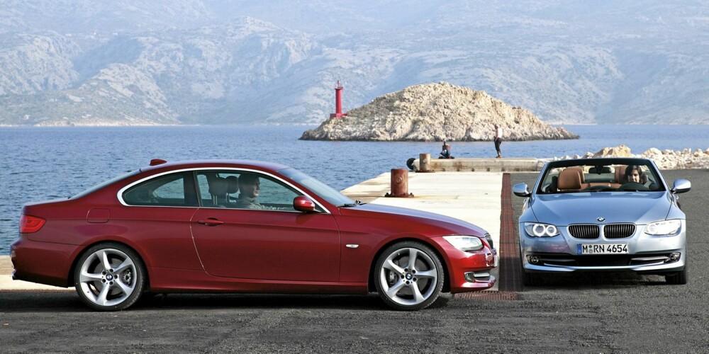 """FULL FRES: 400 Nm fra lave 1200 o/min burde sette god fart på den """"""""nye"""""""" 3-serie coupe og kabriolet."""