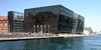 BOKSAMLING: Københavns flotte bibliotek.