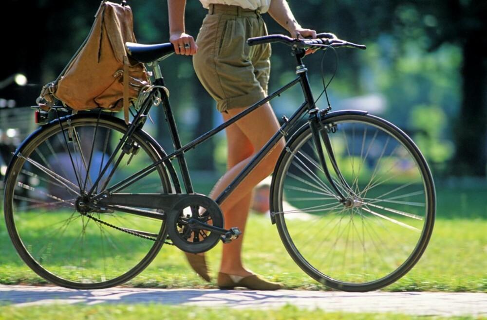 TO HJUL: Det riktige fremkomstmidlet i København er sykkel.