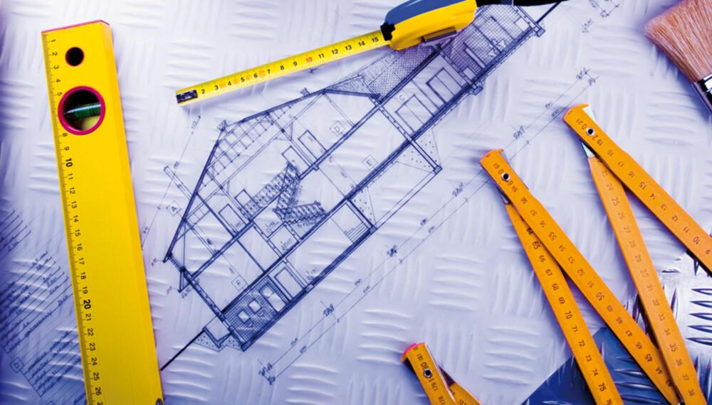PLANLEGGING: Grundig forarbeid og planlegging er gode grep for en vellykket byggeprosess.