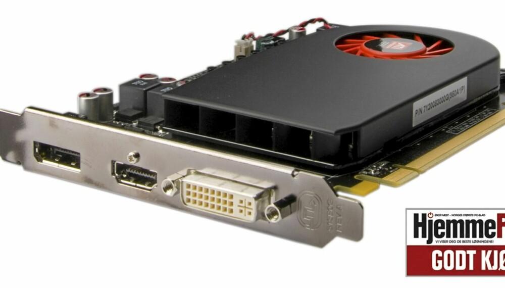 GOD LYD: Endelig kom den dagen vi også kunne skryte av lyden på et skjermkort. ATI Radeon HD5670 har faktisk muligheter for å levere god lyd.