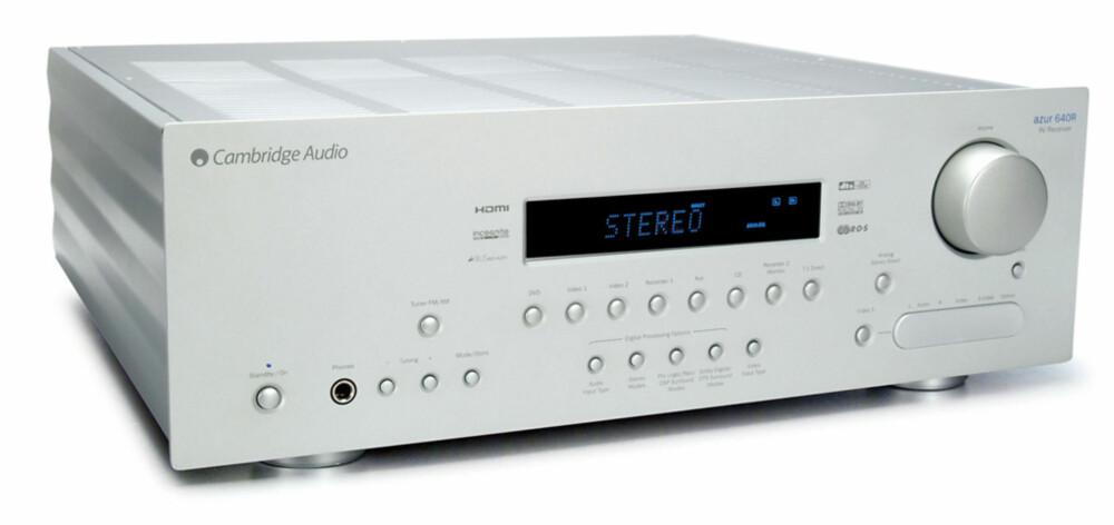 GJØR JOBBEN: Om du gir receiveren et digitalt signal konverterer den det til et analogt et.
