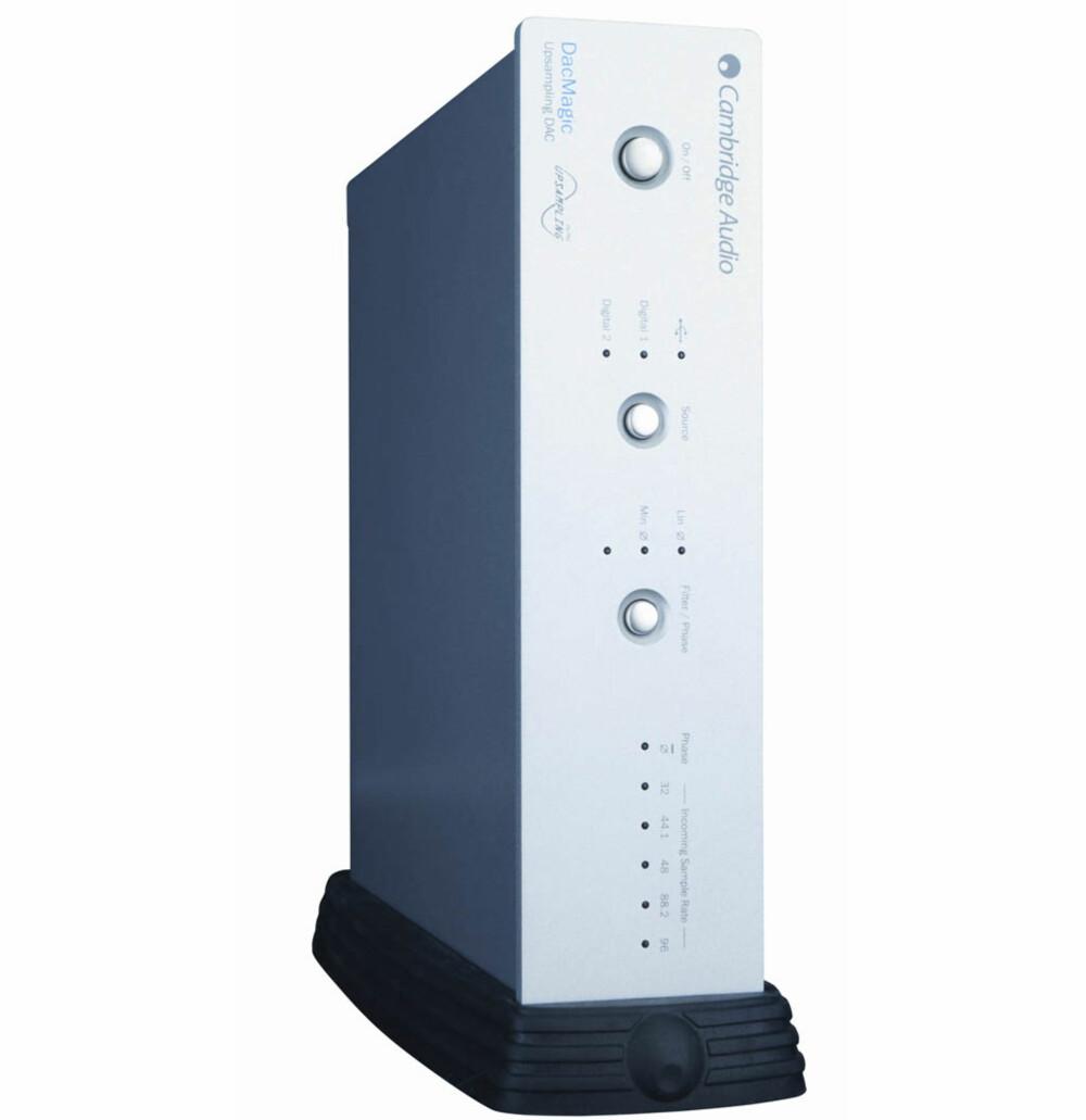 MESTEREN: Når lyden skal konverteres fra analog til digital bør en god DAC absolutt vurderes.