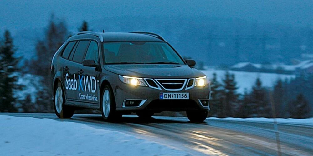 HALDEX IV: Saabs XWD-system baserer seg på fjerde og siste generasjon Haldex-kobling.